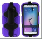 Heavy Duty Hybrid Case Cove+Built-in Screen For Samsung Galaxy S5/S6/S7+Gift Box