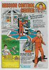"SIX MILLION DOLLAR MAN 1978 = Mission Control = POSTER Not Comic 7 SIZES 19""-36"""