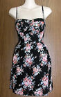 Penny Anne underwired bodice cami-dress black or white NWT SMALL SIZES!