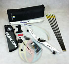 """White 66"""" Core Archery Pro Take Down Recurve Bow & Complete Package"""