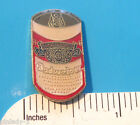 BUDWEISER Beer  Can  - hat pin , lapel pin , tie tac , hatpin GIFT BOXED