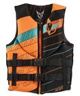 HO Teen Pursuit Neo CGA Vest - 23-38 Inch Chest / Black-Orange