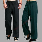 New 100% Cotton Kung Fu Tai chi Wu shu Martial Arts Combat Trousers Casual Pants