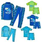 Kids Swimming Suit 2 Piece Rash Swimsuit For Boys 3-12Y Bathing Swimwear Youth