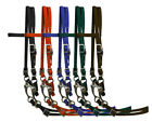 New Showman Nylon Horse Size Bridle Complete with Reins & Bit! FREE SHIPPING!