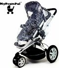 My Pram Pal® Raincover compatible with MACLAREN Pushchair, Pram, Buggy, Stroller