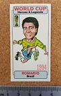 WORLD CUP Heroes and Legends football card - VARIOUS