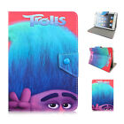"""Kids Cartoon Stand Trolls PU Leather Cover Case For Universal 7"""" inch Tablet PC"""
