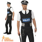 Adult Policeman Instant Kit Cops and Robbers UK Police Officer Fancy Dress