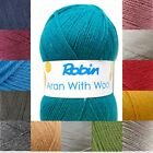 Robin Aran with 25% Wool 400g balls