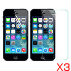 3x Tempered Glass Soft Pet Screen Protector Film For Iphone 5 5s 5c Se