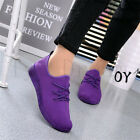 Womens Casual sport shoes Athletic Sneakers Running Breathable Mesh walking Flat