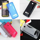 1x New S line Skidproof Gel skin Case cover For Nokia 301 3010