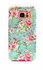 Hybrid Case PC Bumper Case Frame Slim Protective For Samsung Galaxy S6 Rose