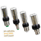 E14 E27 25W 30W LED Corn Light 36/56/72/96/138 LED Bulb 4014 SMD HIGH POWER Lamp