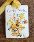 Hang Tags HAPPY EASTER BUNNY CHICKS IN BASKET TAGS or MAGNET 329 Gift Tags