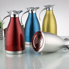 2L Kitchen Stainless Steel Vacuum Insulation Coffee Pot House Hot Water Bottle
