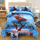 STUNNING SPIDER MAN TWIN FULL QUEEN 8 PIECE COMFORTER IN A BAG FREE SHIPPING