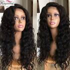 """12-22"""" Best Curly Remy Human Hair Lace Front Wig Womens Brazilian Full Lace Wigs"""
