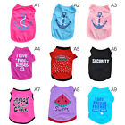 Внешний вид - Unisex Pet Summer Clothes Puppy Dog Cat Vest T Shirt Coat Dress Skirt Apparel