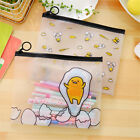 Cartoon Chick Transparent Pen Bags Pencil Cases Student Stationery Writing Case