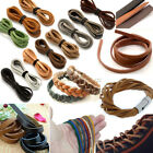 New 100% Real Flat Nappa Leather Cord  String 3 -10mm * 2mm String Lace Thong