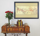 Map of Northern Pacific Railroad; Antique Map; Railroad Map; ca.1900