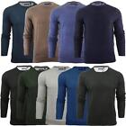 Brave Soul Mens 'Parsec' Knitted Crew Neck Long Sleeve Jumper Sweater Size S-XXL