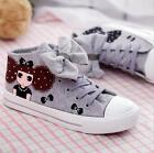 NEW Children Kids Girl Canvas Sports Sneakers Casual Shoes