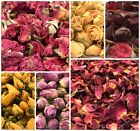 Rose Petals or Rose Buds - Dried, Pink, Red, Ivory, Yellow, Soap, Craft, Candle