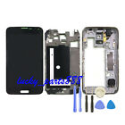 For Samsung Galaxy S5 G900F LCD Display Touch Screen Digitizer Assembly+ Frame