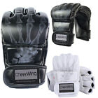 Kyпить MMA UFC Sparring Grappling Training Boxing Gloves Punch Ultimate Mitts Leather на еВаy.соm