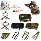 Adjustable Hunting 3 Point Rifle Sling Bungee Tactical Shotgun Gun Strap System