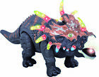 Walking Dinosaur Toy - Triceratops - Lights, Movements and Sounds