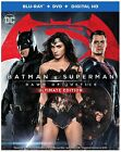 Batman v Superman Dawn of Justice Blu-Ray DVD Extended Ultimate Edition New