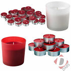 IKEA Vinter Christmas Scented Candles - Fragranced Tea Lights / Glass Jar Candle