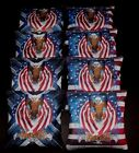 USA FLAG PATRIOTIC BALD EAGLE FREEDOM 8 ACA regulation custom Cornhole bags B118