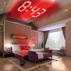 Multifunctional Wall Projection Voice Talking LCD Time Temp Diplay Alarm Clock