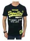Superdry Mens Size Large Shirt Shop Fade T-Shirt in Eclipse Navy