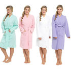 Ladies 100% Cotton Waffle Dressing Gown