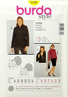 BURDA PATTERN JACKET SEMI FITTED 2 DESIGNS 2 LENGHTS SIZE 18-28 # 7330