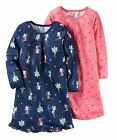 Carter's    Girls' 2-Pack Sleep Gowns     MSRP$34.00    Size 2/3, 4/5, 8/10