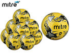 *BRAND NEW* 10 x MITRE - FLUO CALCIO HYPERSEAM TRAINING FOOTBALL - SIZE 3,4,5