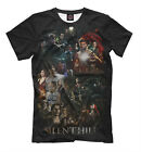 Silent Hill tee - geek old school gamers t-shirt playstation print large sizes
