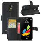 Flip Magnetic Card Wallet PU Leather Phone Case Cover For LG Stylo 3/LG Stylus 3