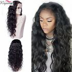 Women's Human Hair Full Lace Wig Brazilian Remy Lace Front Wigs With Baby Hair