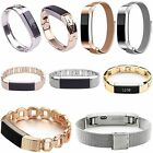 Stainless Steel Jewelry Watch Band Link Bracelet Strap For Fitbit Alta HR Watch