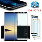 Full Front Curved Edge Tempered Glass Clear Screen de2 Fr Samsung S8 + S7 Edge