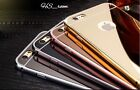 Luxury Ultra-thin Mirror Metal Case Cover for iPhone 6+  / 6S Plus