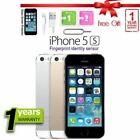 Apple iPhone 5s 16GB 32GB 64GB Factory Unlocked Sim Free Smartphone Mobile UK